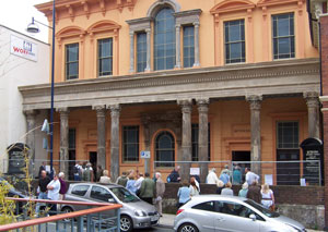 The front, Open Day, 8 September 2007
